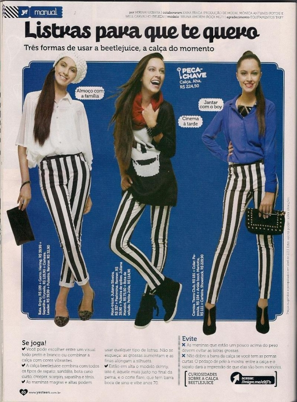 Yes! Teen - editorial - maio