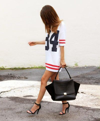 varsity-tshirt-dress-street-style